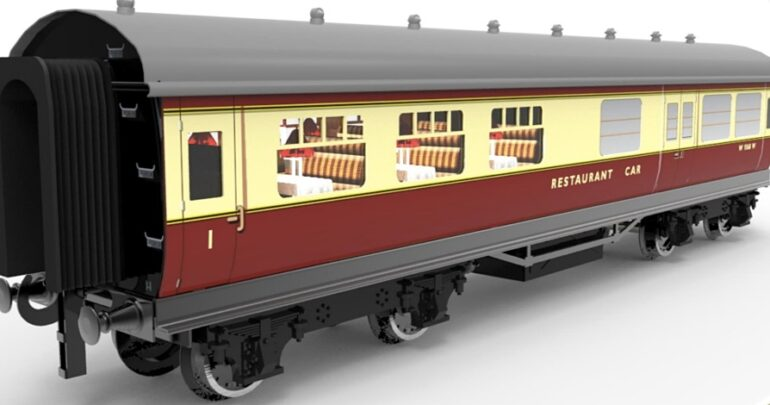 British Railways (W) Blood and Custard (ex GWR Toplight and Collett) Coaches