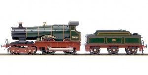 E/22 Great Western Railway (GWR) City 4-4-0 Locomotive