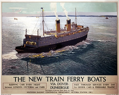 New Train Ferry Boats poster