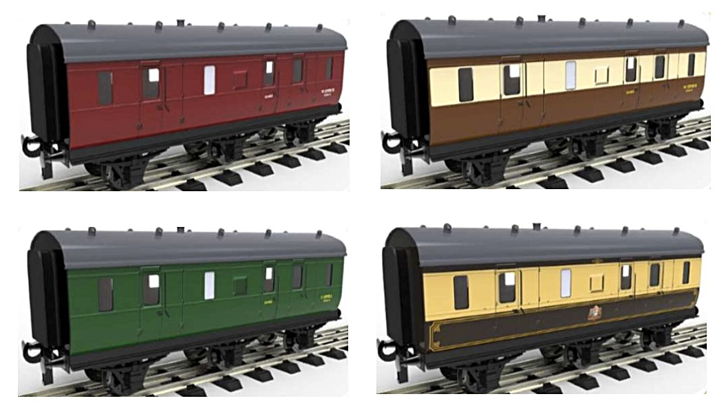 Six-wheeled Stove Coaches