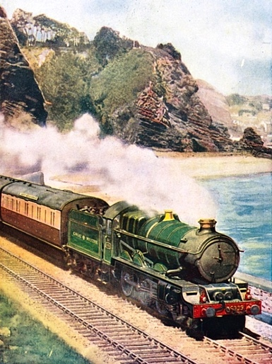 Cornish Riviera Express locomotive