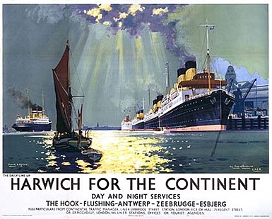 Harwich for the Continent