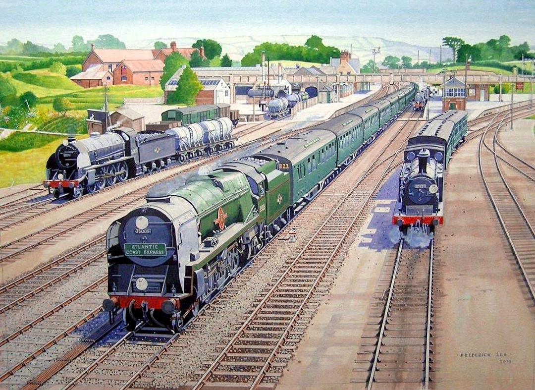 Seaton Junction by Frederick Lea